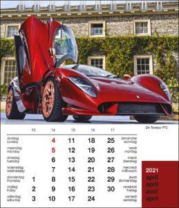 maand desk kalender