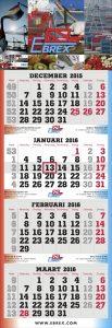 viermaandskalender superieur